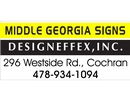 Middle Georgia Signs & Designeffex
