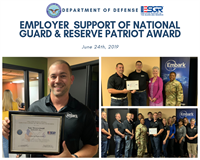 Embark COO/Co-Owner Tony Messerschmidt Receives ESGR Patriot Award