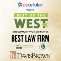 "Davis Brown Voted ""Best Law Firm"" by West Des Moines Chamber of Commerce"