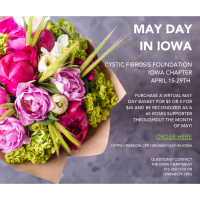 THE CYSTIC FIBROSIS FOUNDATION ANNOUNCES MAY DAY FUNDRAISER