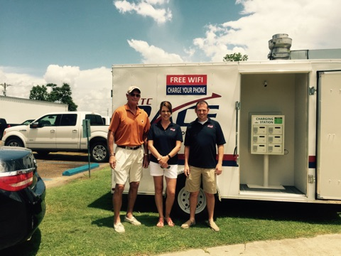 Free WiFi and Charging Station - Vermiilion Chamber Golf Tournament