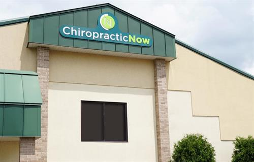 Chiropractic Now is in the upper level at 600 W. Verona Ave.