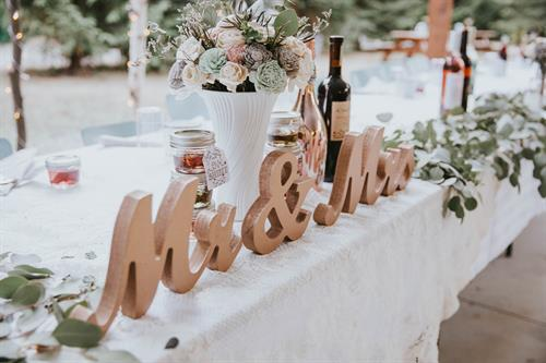 Outdoor Adventure Wedding - Photo Credit: Lota Love Photography