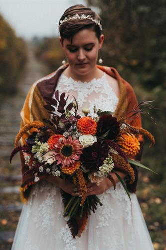 Fall Florals - Photo Credit: Wanderlust Photography
