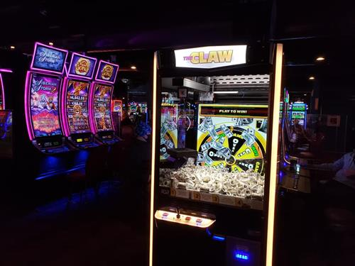 Try our new game, The Claw! This is the only game of its kind in Eastern Washington!