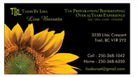 Taxes By Lisa