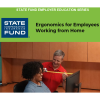 Free Webinar:  Ergonomics for Employees Working from Home