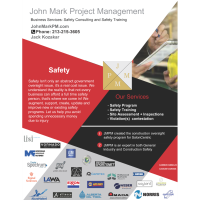 Business Services: Safety Consulting and Safety Training