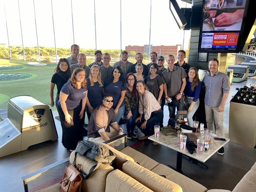 Our young professionals have monthly outings including social and community events.
