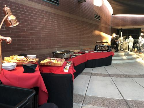Our cafe also provides catering for any events