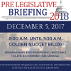 Mississippi Gulf Coast Chamber of Commerce's 2019 Pre Legislative Briefing