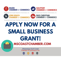 Coast Chamber Divisions Small Business Grant Applications Now Open