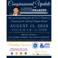 Mississippi Gulf Coast Chamber of Commerce Presents a Congressional Update with U.S. Congressman Steven Palazzo