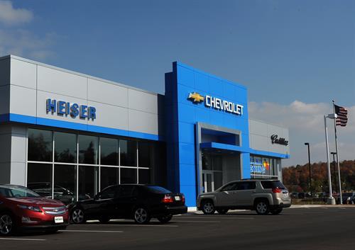 Heiser Chevrolet Cadillac Storefront