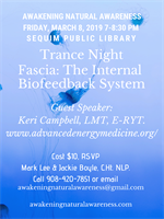 Trance Night: featuring guest speaker, Keri Campbell, LMT, E-RYT.