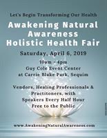 Awakening Natural Awareness Holistic Health Fair