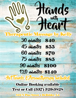 Hands with Heart Massage and Salon