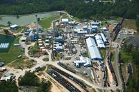 Plant Aerial View
