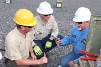 Linemen recieve regular training from other professionals at a local, state and national level.