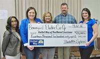 BECi gives back to the community. BECi employees give to United Way of Southwest Louisiana each year.
