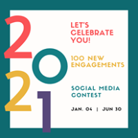 100 New Engagements - Social Media Contest