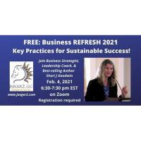 FREE! Business Refresh 2021: Key Practices for Sustainable Success