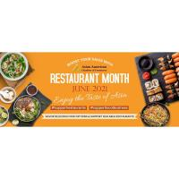 """AACC promotes """"Taste of Asia"""" Restaurant Month 2021 to support Asian Community Restaurants!"""