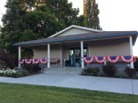 George Community Hall, ready for July 4!