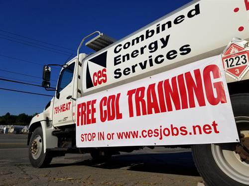 CES offers FREE CDL training and a paid CDL apprenticeship program