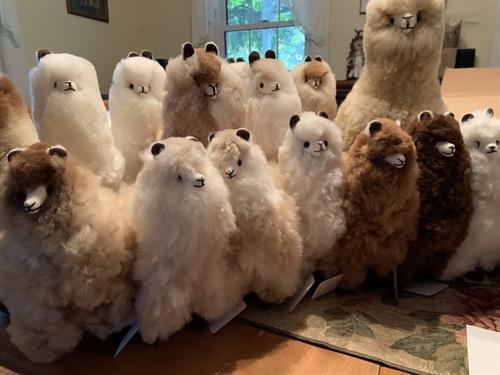 alpaca toy herd!!