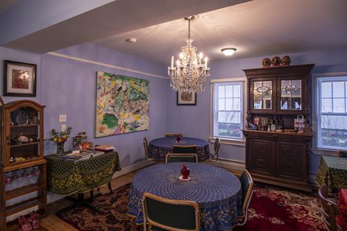 Rose Cottage dining room Copyright © 2019 SCVA and Jerry Cohen All rights reserved.
