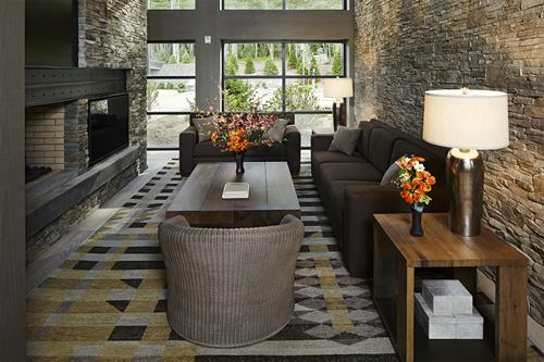 The Bradstan Boutique Hotel lobby.