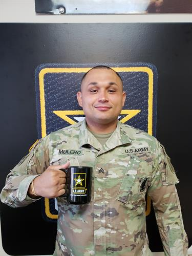 Sergeant Wilfredo Mulero