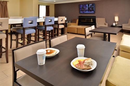 Enjoy our Express Start Breakfast complimentary included with your stay.