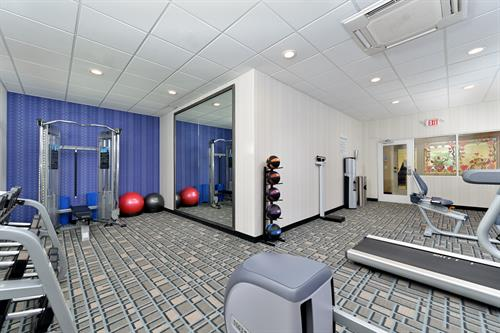 Dont forget to get your workout in at our Fitness Room daily.
