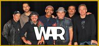 WAR will Rock the Paramount Stage on August 5th!