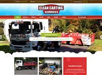 Website we created for a waste management company