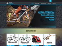 Pedal Peekskill website we created