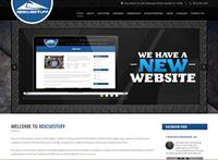 Rescuestuff website we created