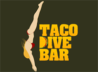 Taco Dive Bar  logo we created