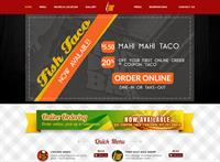 Taco Dive Bar website we created