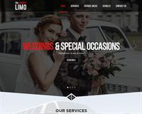 Website we created for a limousine company