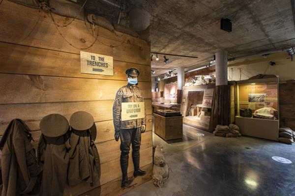 Journey through Bruce Remembers and discover what Bruce County soldiers experienced