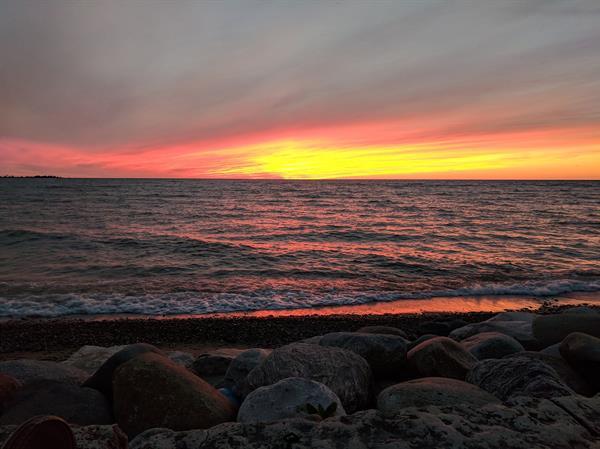 World Class Sunsets on Beautiful Lake Huron