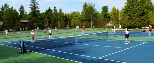 16 local Tennis Courts