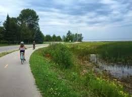 Lake Huron Shoreline Bike Trail from Southampton to Port Elgin