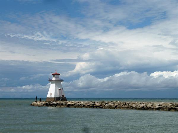 Southampton Harbour Pier with Lighthouse