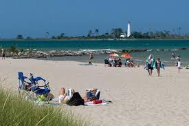 Sandy Beach overlooking Chantry Island in Southampton