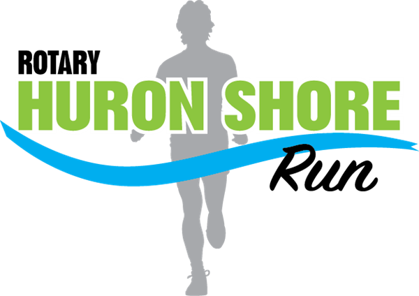 Design of the new Rotary Huron Shore Run logo