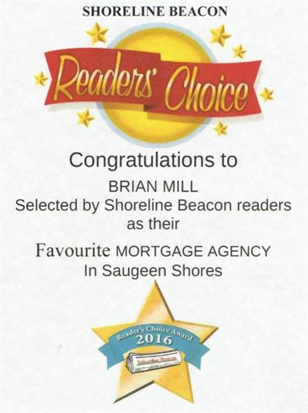 Readers Choice Award for Saugeen Shore Beacon